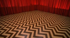 twin peaks floor curtain