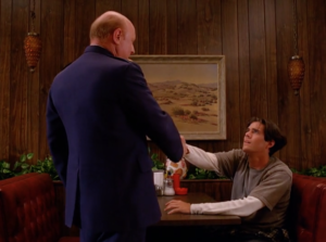 twin peaks 4shaking hands
